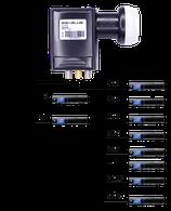 GigaBlue Ultra Einkabel SCR-LNB / 24 SCR - 2 Legacy UHD 4K