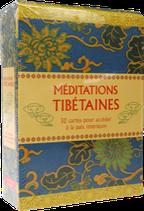 Méditations tibétaines - 52 cartes pour accéder à la paix intérieure