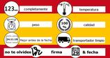 sello de entrada de mercancías
