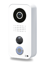 DoorBird Video Door Station D101, Polycarbonate housing, White Edition