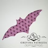 Körnerkissen Batty rosa/lila Gemme Füllung: Dinkel oder Rapssamen