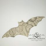 Körnerkissen Batty beige schwarz Uhren  Füllung: Dinkel oder Rapssamen