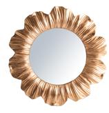 Specchio Margherita Oro