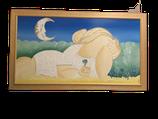 Quadro Donna al chiaro di Luna ArtStudio