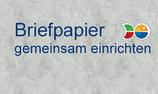 Briefpapier gemeinsam einrichten