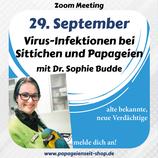Aufzeichnung Vortrag: Viren bei Sittichen und Papageien - Alte bekannte und neue Verdächtige!