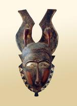 Masque de chasse - Gouro-Yaouré (Côte d'Ivoire)
