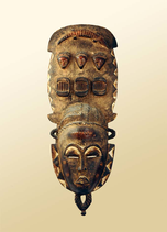Masque de chasse et d'esprit des ancêtres - Gouro-Yaouré (Côte d'Ivoire)