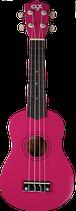 Ukulele Calista 21 Colour - Pink + glitters