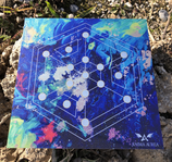 "Kunstdruck Legeplatte ""Hexagon"""