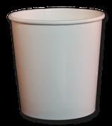 Eisbecher 130 ml, BIO, weiß (1.800 Stk.)