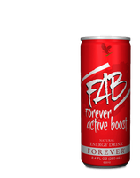 FAB X FOREVER ACTIVE BOOST (Boisson énergisante) Pack de 12, REF:321