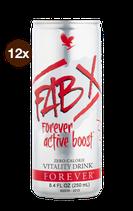 FAB X Active BOOST sans sucre PACK 12 REF: 440