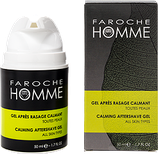 Faroche Homme aftershave gel.