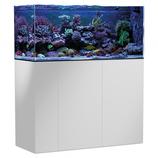 315 l Rahmenloses Meerwasser-Komplettaquarium mit Unterschrankfiltersystem Aqua Medic Armatus 400