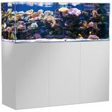 375 l Rahmenloses Meerwasser-Komplettaquarium mit Unterschrankfiltersystem Aqua Medic Armatus 450