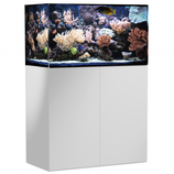 250 l Rahmenloses Meerwasser-Komplettaquarium mit Unterschrankfiltersystem Aqua Medic Armatus 300