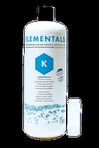 ELEMENTALS K 1000ml Hochkonzentrierte Kalium-Mix Lösung für Riffaquarien Fauna Marin