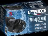 Bis 1000 l/h Sicce Voyager NANO 1000 Strömungspumpe