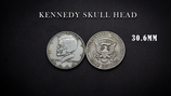 Half Dollar Skull