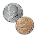 Half et 20 Centavo