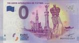 Billet touristique 0€  100 anos aparicoes de Fatima 2017
