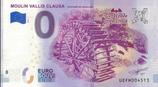 Billet touristique 0€ Moulin Vallis Clausa Fontaine de Vaucluse 2018