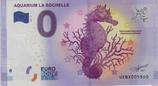 Billet touristique 0€ Aquarium La Rochelle Hippocampe moucheté 2017