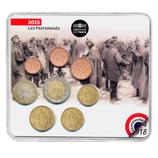 Mini-set BU euro - Grande guerre - 2015