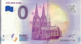 Billet touristique 0€ Kolner Dom 2018