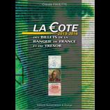 Cote Fayette 2015-2016 Billets BDF et du Trésor