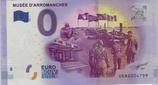 Billet touristique 0€ Musée d'Arromanches 2016