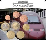 Mini-set BU euro - Lille europe et les TGV- 2010