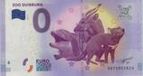 Billet touristique 0€ Zoo Duisburg dauphin bongo diable de tasmanie 2017