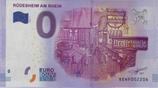 Billet touristique 0€ Euro souvenir Rudescheim am Rhein 2016