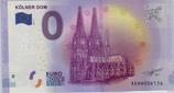 Billet touristique 0€ Kolner Dom 2016