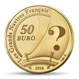 50 euros Le pourquoi pas ? 2014 en or 1/4 oz