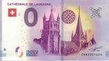 Billet touristique 0€ Cathédrale de Lausanne 2018