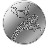 Médaille Thomas Schütte Mini-médaille Blume 2019