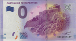 Billet touristique 0€ Chateau de Peyrepertuse 2017