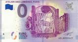 Billet touristique 0€ Atelier des Lumières Paris Gustav Klimt 2018