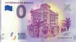 Billet touristique 0€ Cathédrale de Monaco 2018