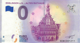 Billet touristique 0€ Esslingen a.N Altes Rathaus 2018