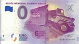 Billet touristique 0€ Musée mémorial d'Omaha beach dday 6 juin 1944 2018