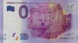Billet touristique 0€ Verdun 1916 2016 La porte chaussée et le monument de la victoire 2016