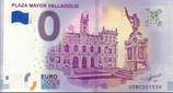 Billet touristique 0€ Plaza mayor Valladolid 2018