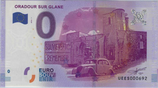 Billet touristique 0€ Oradour sur Glane 2016