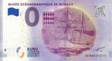 Billet touristique 0€ Musée océanographique de Monaco navire 2018