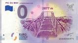 Billet touristique 0€ Pic du Midi Le ponton dans le ciel 2018