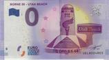Billet touristique 0€ Borne 00 Utah beach 2017